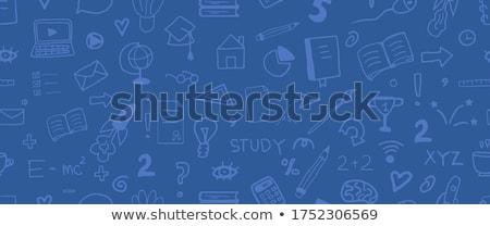 Foto stock: Vetor · on-line · educação · criador · negócio · ilustração