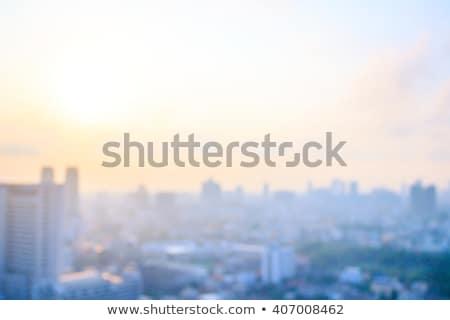 morning in the industrial city stock photo © galitskaya