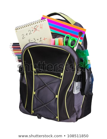 group of students with books and school bags Stock photo © dolgachov