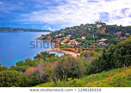 Saint Tropez. Scenic  waterfront of Saint Tropez view Stock photo © xbrchx