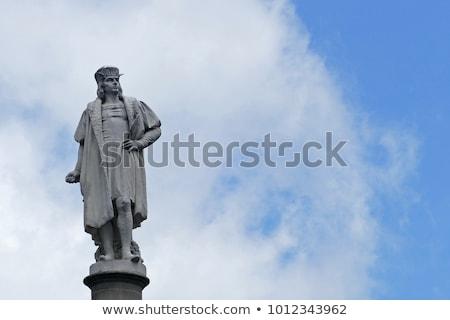 Estatua Barcelona España arquitectura Europa historia Foto stock © ShustrikS