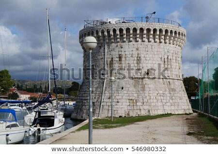 St Mark's Tower in Trogir, Croatia Stock photo © borisb17