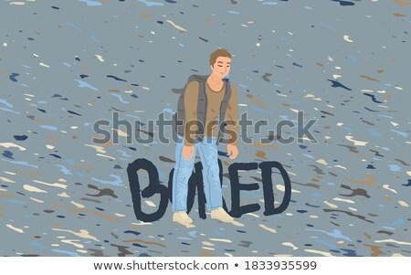 обратить грусть форме дождь образовательный игры Сток-фото © Olena
