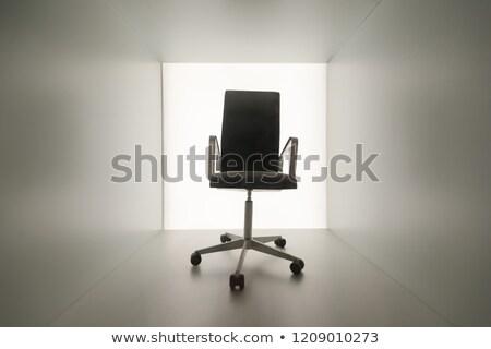 Pusty krzesła opuszczony biuro pokój nie ma ludzi Zdjęcia stock © Giulio_Fornasar