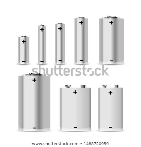 Grande conjunto diferente branco isolado Foto stock © evgeny89