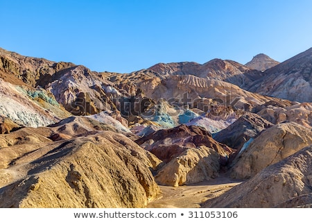 Artist's Drive, Death Valley National Park, California, USA stock photo © phbcz