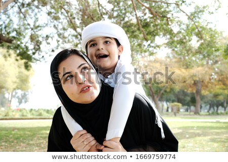 Family love - women and her children Stock photo © orson
