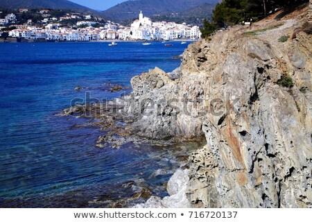 Zee landschap oceaan Blauw reizen Stockfoto © duoduo