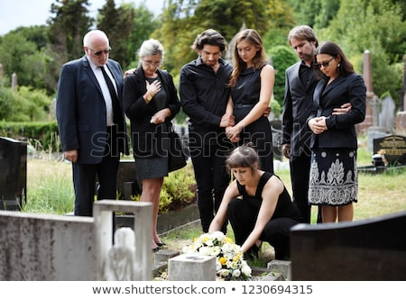 WOman at Funeral Stock photo © piedmontphoto