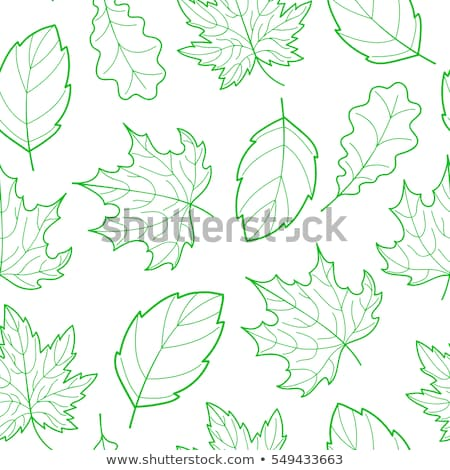 sem · costura · outono · padrão · borboletas - foto stock © beholdereye