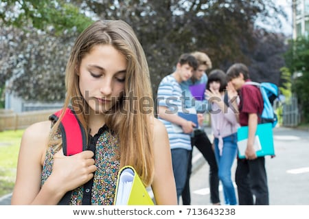 Student being gossiped about Stock photo © photography33