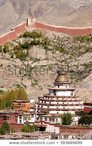 Gyangze lamasery,Tibet Stock photo © bbbar