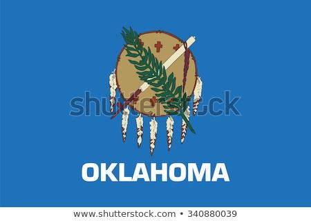 флаг Оклахома ветер бизнеса путешествия Сток-фото © creisinger