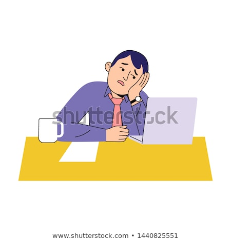 despairing office worker stock photo © photography33