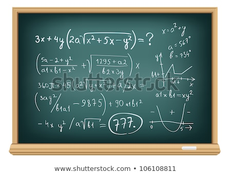 board difficult equations Stock photo © romvo