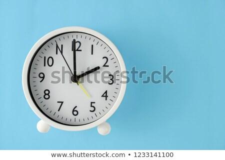 14 час часы бизнеса лице стены Сток-фото © Sniperz