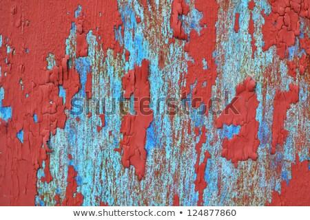 fém · citromsárga · keret · garázs · épület · kő - stock fotó © taigi