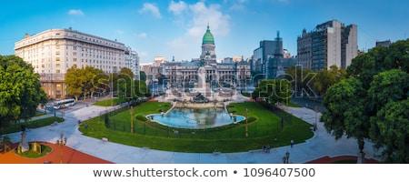 építészet Buenos Aires Argentína dél-amerika üzlet ház Stock fotó © Spectral