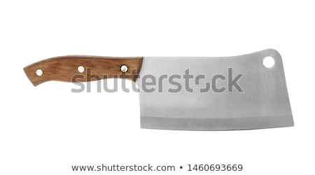 butcher with knife stock photo © photography33