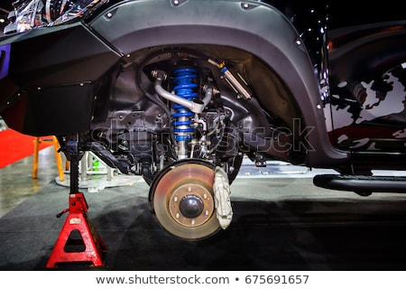 new shock absorber and spring Stock photo © RuslanOmega