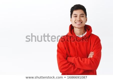 Portre genç erkek adam iş Stok fotoğraf © Spectral