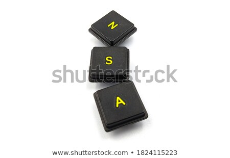 3D Word Spy on red background stock photo © Mariusz_Prusaczyk