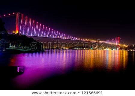 橋 1泊 イスタンブール トルコ 建設 ストックフォト © franky242