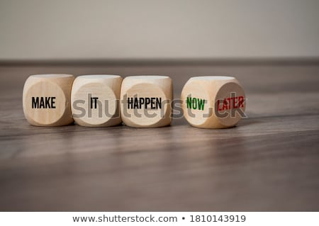 positive can do attitude stock photo © 3mc