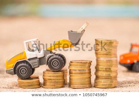 euros and loader Stock photo © vwalakte