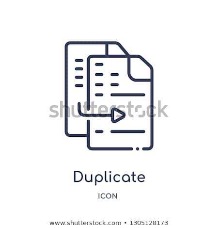 duplicate stock photo © chrisdorney