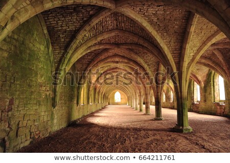Fountains Abbey  Cellarium  Stock photo © chris2766