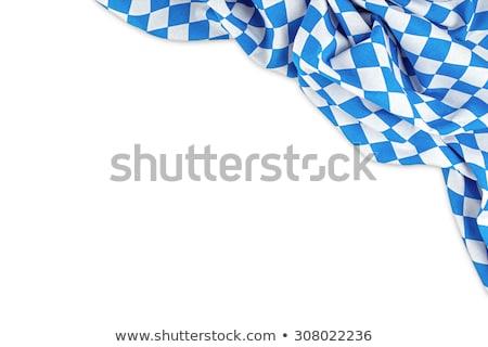 Zászló nagy verzió futball kolbász Németország Stock fotó © joggi2002
