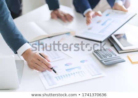 Financial reference point Stock photo © grechka333
