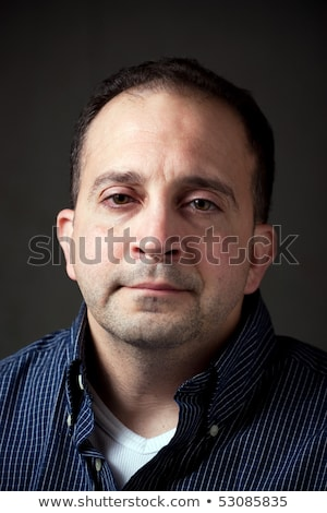 Expressions - Thirty Something Aged Man Stock photo © 805promo