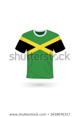 voetbal · voetbal · bal · Jamaica · vlag · 3D - stockfoto © mikhailmishchenko