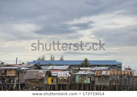 Cebu slums Stock photo © joyr
