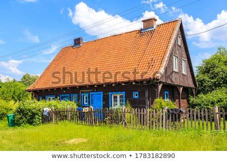 Old rural home in Poland Stock photo © Hochwander