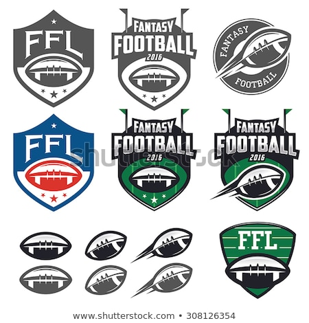 Flying american football ball Stock photo © Winner