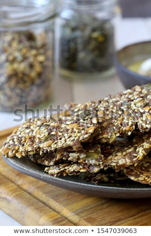 Salzig Samen Essen weiß Snack Stock foto © FOKA