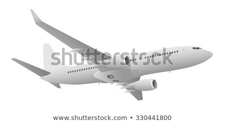 large passenger jet Stock photo © nelsonart