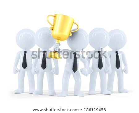 受賞 · ビジネスチーム · 執行 · トロフィー · 金 - ストックフォト © kirill_m