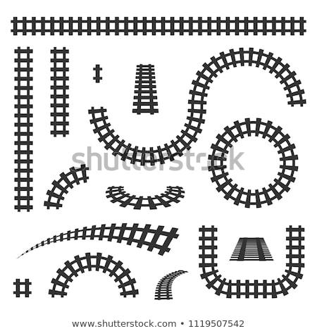 railroad tracks stock photo © dirkr