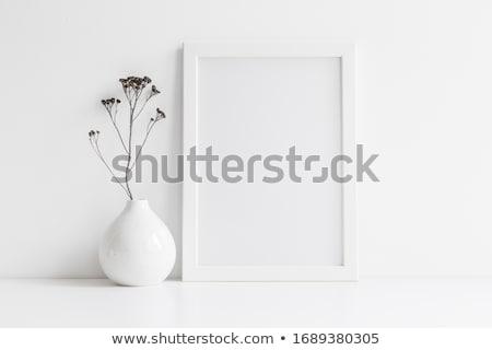 Cadre blanche mur espace de copie espace propre Photo stock © jaycriss