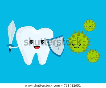 uzdrowienie · zęby · piękna · kobiet · otwarte - zdjęcia stock © lightsource
