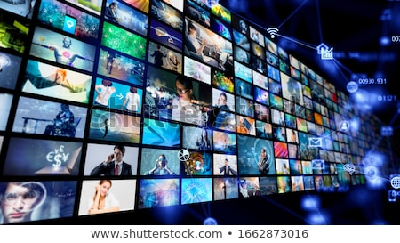 Cinema vídeo mídia indústria filme filme Foto stock © tashatuvango