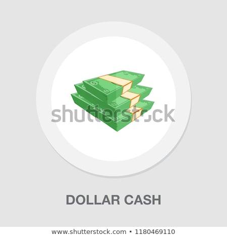 Green dollar stock photo © polygraphus