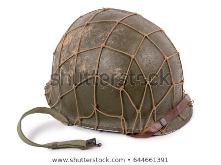 WWII helmet Stock photo © lucielang