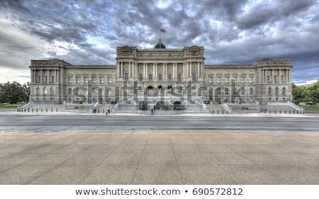 библиотека конгресс Вашингтон здании Вашингтон США Сток-фото © lunamarina