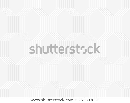 3D perforated vertical braids on gray Stock photo © Zebra-Finch