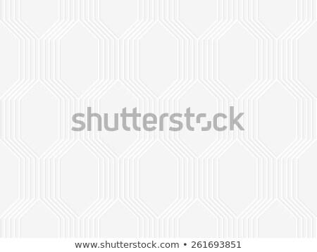 現代 · 幾何学的な · 効果 · 影 · 3D - ストックフォト © zebra-finch